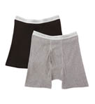Hanes Colored Boxer Brief 2 Pack 2349AT