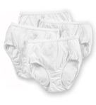 100% Cotton Brief Panty - 4 Pack Image