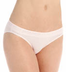 Hanes Cotton Stretch Waistband Bikini with Lace - 3 Pack 42KLB4