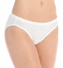 Hanes Cotton Stretch Waistband Bikini Panty - 3 Pack 42KSB3