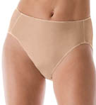 Hanes Body Creations Microfiber Hi Cut Panties - 3 Pack 43M3
