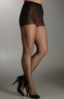 Sheer Reflections Control Top ReinforcedToe Tights