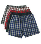 Hanes Tartan Boxer 5 Pack 745BP5