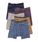 Hanes 5 Pack Stretch Dyed Boxer Briefs 76925A