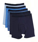 Hanes Blue Ringer Boxer Briefs 5 Pack 76925B