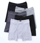 Comfortsoft Cotton Boxer Briefs - 5 Pack