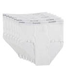 Premium Cotton Full-Cut White Briefs - 7 Pack