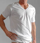 Big Mens Original Cotton V-Neck T-Shirts - 3 Pack