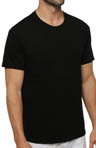 Black Crewneck T-Shirts - 3 Pack