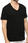 Hanes Black V-Neck T-Shirt 3 Pack 7883B3