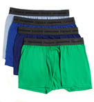 Hanes Slim Fit Trunks 4 Pack CSB2B4