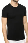 Hanes Slim Fit Black Crewneck T-Shirt 3 Pack CST1B3