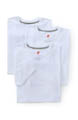 Slim Fit White Crewneck T-Shirts - 3 Pack Image