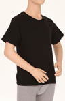 Boys Dyed Crew Neck T-Shirts - 3 Pack