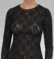 Signature Lace Unlined Long Sleeve T-shirt Image