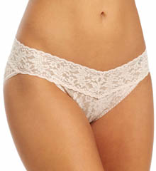 Signature Lace V-kini Panty 2 Pack