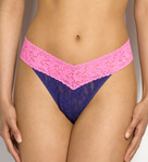Signature Lace Colorplay Original Rise Thong