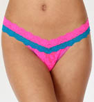 Colorblock Low Rise Thong