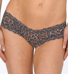 After Midnight Leopard Crotchless Hipster Panty