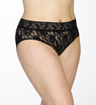 Signature Lace Plus Size French Brief Panty Image