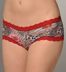 Animal Rose Boyshort Panty