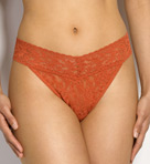 Signature Lace Original Rise Thong Image