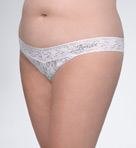 Hanky Panky &quot;Bride&quot; Original Rise Plus Thong 481141X