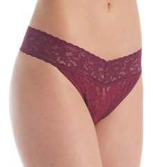 5 Pack Original Rise Signature Lace Thongs