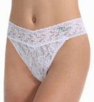 Hanky Panky Mrs. Original Rise Thong 4811T2