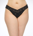 Signature Lace Plus Size Thong Image