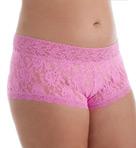 Signature Lace Plus Wide Band Boyshort Panty Image