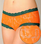 University of Miami Boyshort Panty