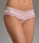 Ruffle Signature Lace V-kini Panty
