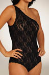 Hanky Panky Signature Lace Asymmetric Bodysuit 488502