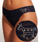 Hanky Panky Election Bling Donkey Original Rise Thong 48DONKE