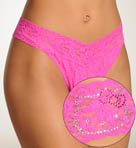 Signature Lace Hello Kitty Original Rise Thong