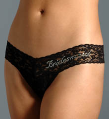 Hanky Panky Bridesmaid Low Rise Thong 491031