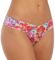 Low Rise Pattern Thongs