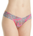 Low Rise Pattern Thongs Image