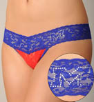 University of Mississippi Low Rise Thong