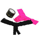 Naughty And Nice Thong Set - 2 Pack