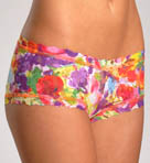 Impressionist Floral Boyshort Panty