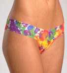 Impressionist Floral Low Rise Thong