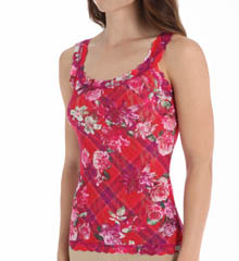 Hanky Panky Blooming Plaid Cami 4T4256