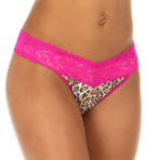 Hanky Panky Leopard Nouveau Signature Lace Thong 4X1104