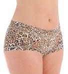 Leopard Nouveau Plus Wide Band Boyshort Panty Image
