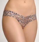 Leopard Nouveau Low Rise Thong