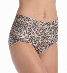 Hanky Panky Leopard Nouveau Retro V-Kini Panty 4X2122