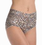 Leopard Nouveau Retro V-Kini Panty Image