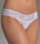Hanky Panky Logo To Go Low Rise Thong 631581